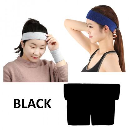 Sweat Headbands Set Fitness Sport Outdoor Headband Sweat Belt Running Soft Cotton Unisex